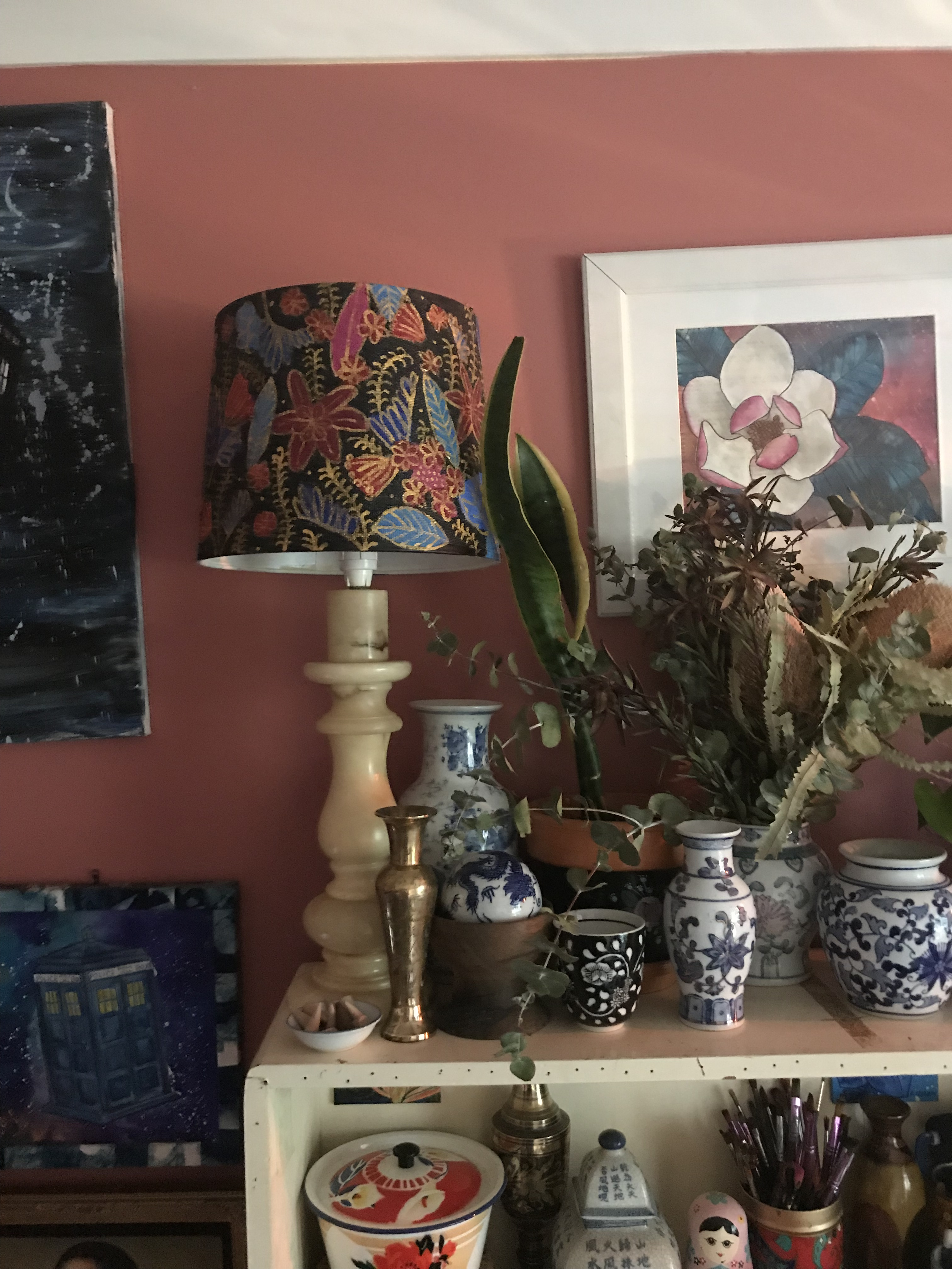 New Lampshade Makeover